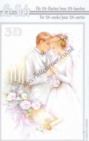 Wedding Mini 3D Decoupage Book from Le Suh